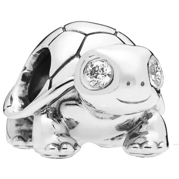 Bright-Eyed Turtle Schildkröte PANDORA Charm 797878CZ