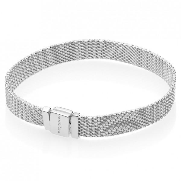 Pandora Reflexions Mesh Armband 925 Sterlingsilber 597712