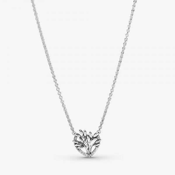 Herz Familienstammbaum PANDORA Collier-Halskette 399261C01-50