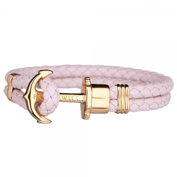 PAUL HEWITT PHREP Gold Anker Armband Pink Rose PH-PH-L-G-Pr-S