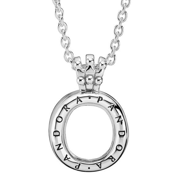 Pandora Medaillon Crown O Halskette 398332