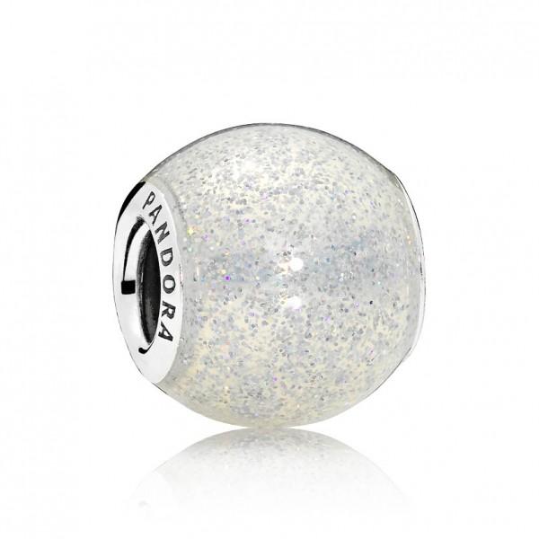 PANDORA Charm Silberglänzende Kugel 796327EN144