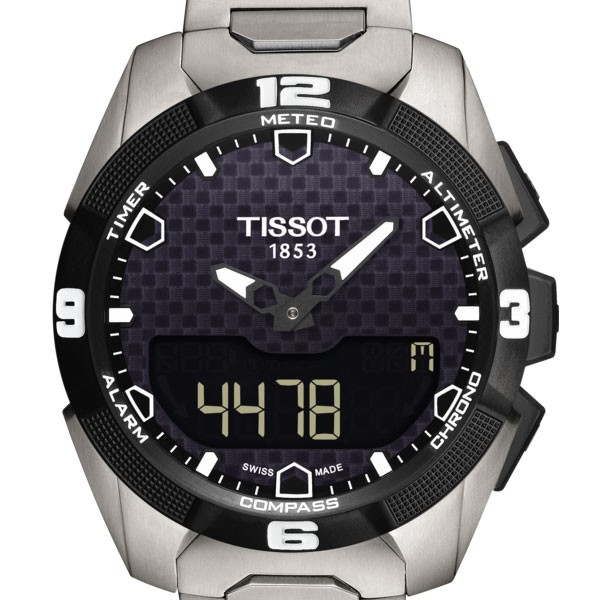 TISSOT T-TOUCH EXPERT SOLAR T0914204405100 - T091.420.44.051.00