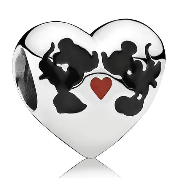PANDORA Disney Micky und Minnie Forever Charm 791443ENMX