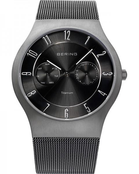 Bering Classic Titanium Multifunktion 11939-077 Herrenuhr
