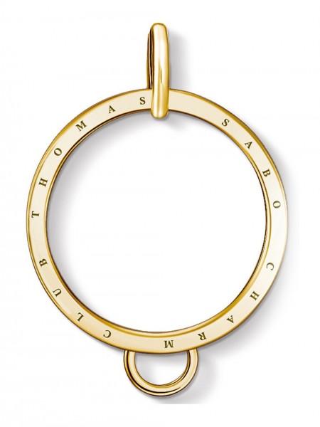 Thomas Sabo - Carrier -Kreis gold- X0266-413-39 - Charm Club