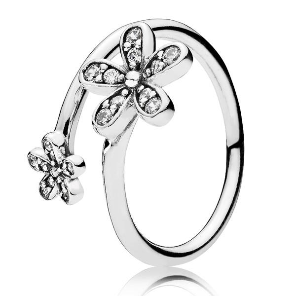 PANDORA Ring Glanzvolle Gänseblümchen 191038CZ
