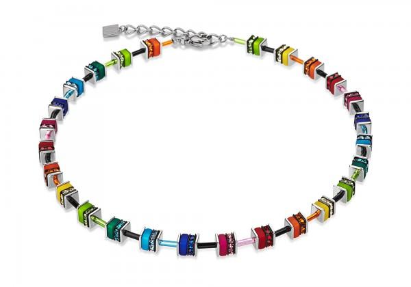 Geo Cube Collier Swarovski® Kristalle small multicolor 4409101500