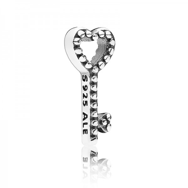 PANDORA Medaillon Element Herzschlüssel 796568