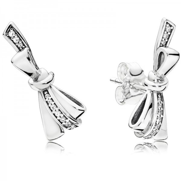 PANDORA Ohrringe Brilliant Bows 297234CZ