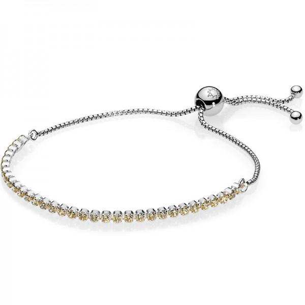 PANDORA Armband Golden Sparkling Strand Bracelet 590524CCZ-1