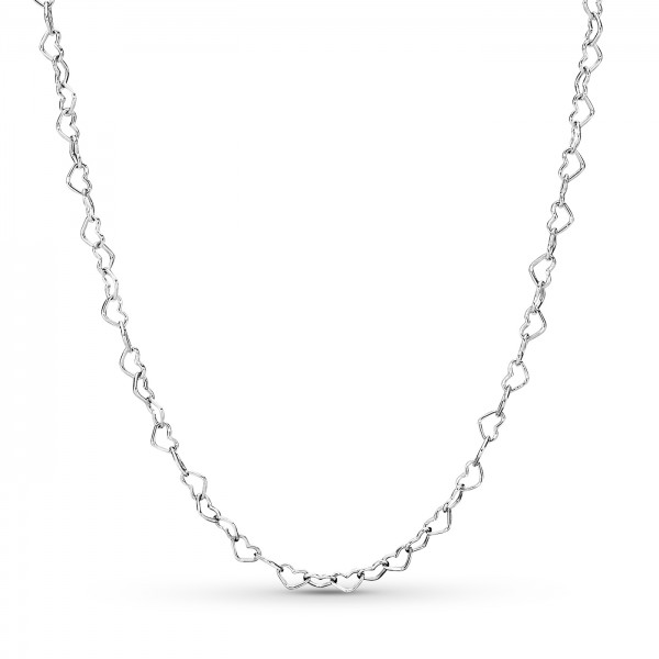 Joined Hearts Necklace PANDORA Halskette 397961-60
