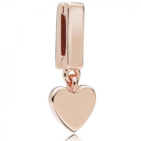 Floating Heart Clip PANDORA ROSE REFLEXIONS Charm 787643