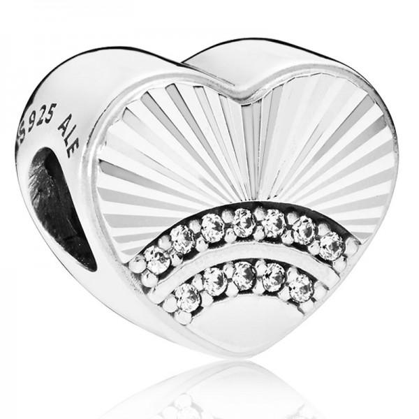 PANDORA Fan of Love Charm 797288CZ