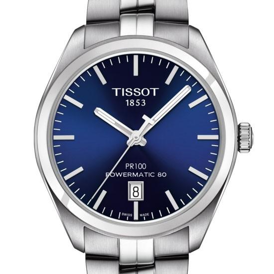 TISSOT PR 100 POWERMATIC 80 T1014071104100 - T101.407.11.041.00