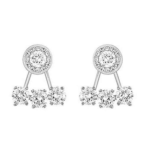 Swarovski Attract Light Round Earring Jackets 5142735