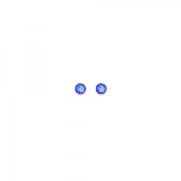 Ohrstecker Swarovski® Kristalle Blau 0042210700