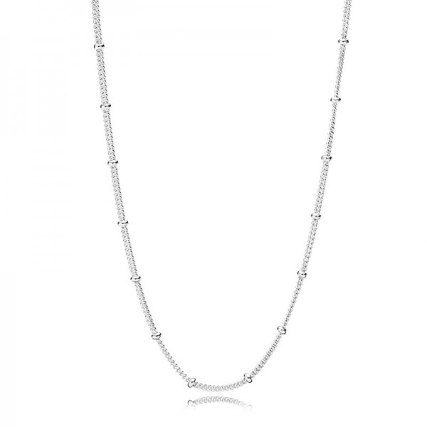 PANDORA Silver Beaded Necklace Halskette 397210-70