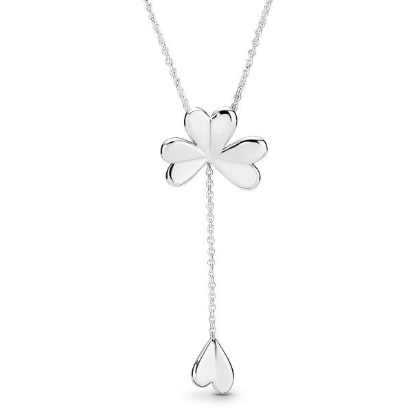 Lucky Four-Leaf Clover Necklace PANDORA Halskette 397925-70