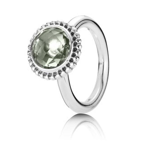 PANDORA Ring, Quarz grün - 190620GAM-58