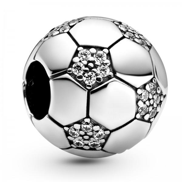 Funkelnder Fußball PANDORA Charm 798795C01
