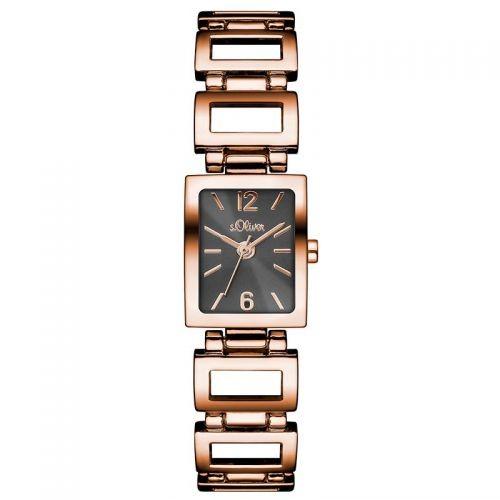 s.Oliver Damen-Armbanduhr SO-3034-MQ