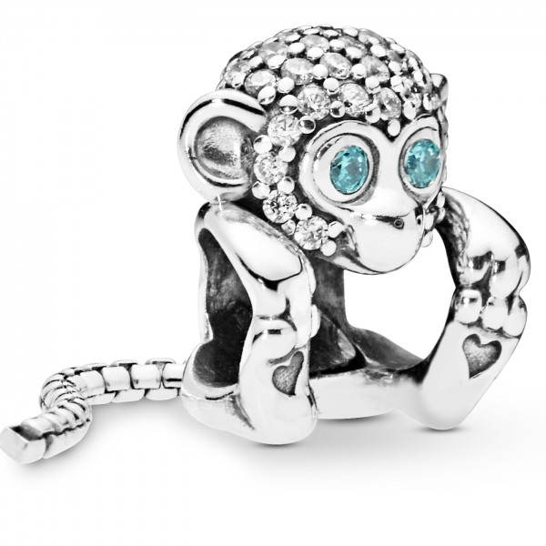 Sparkling Monkey Funkelnder Affe PANDORA Charm 798054CZ