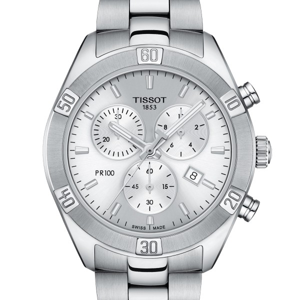 Tissot PR 100 Sport Chic Chronograph Damenuhr T1019171103100