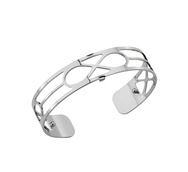 Les Georgettes Armreif Infini Silber 14mm 70265461600000