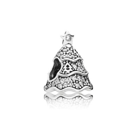 PANDORA Charm Pavé-Weihnachtsbaum 791765CZ