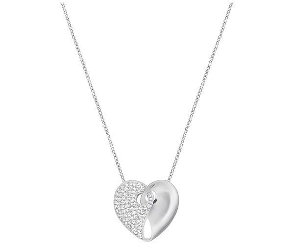 Swarovski Guardian Halskette, Mittel, Weiss 5279155