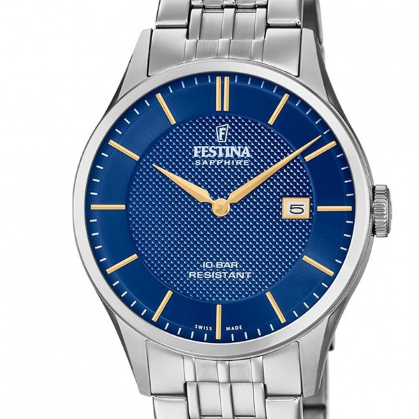 Festina Swiss Made Collection Herrenuhr F20005/3