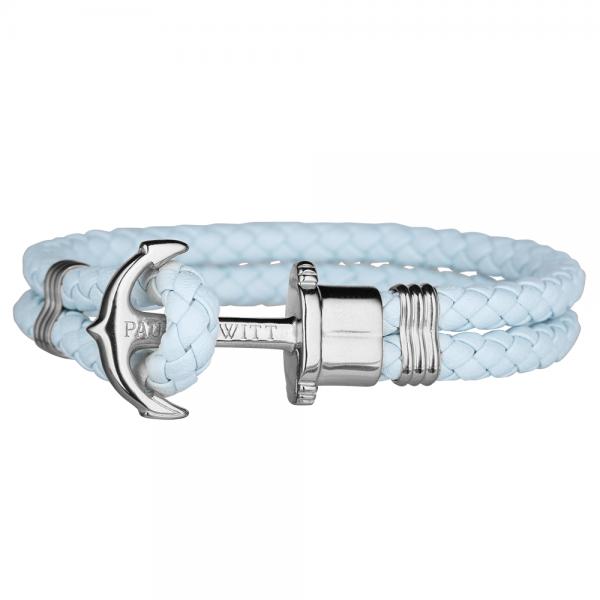 PAUL HEWITT PHREP Silber Anker Armband Blue Sky PH-PH-L-S-Bs-S