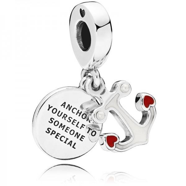 PANDORA Anchor of Love Charm Dangle 797208ENMX