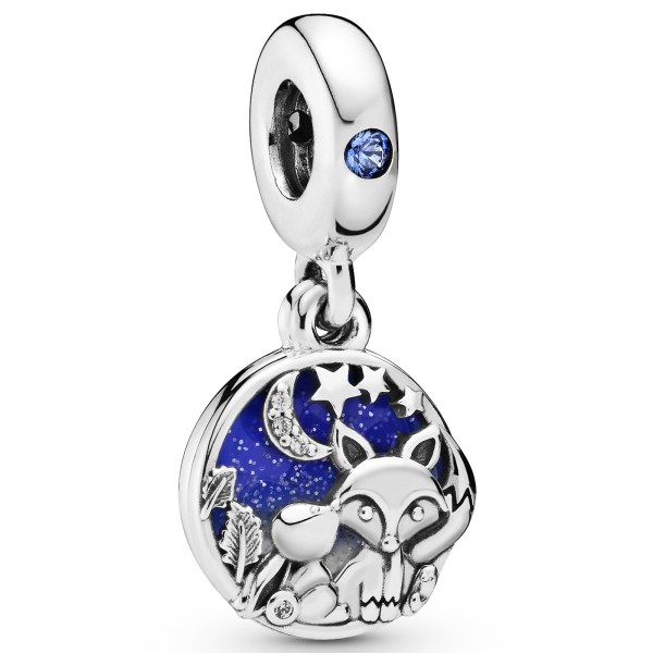 Fox and Rabbit PANDORA Charm-Anhänger 798239NMB