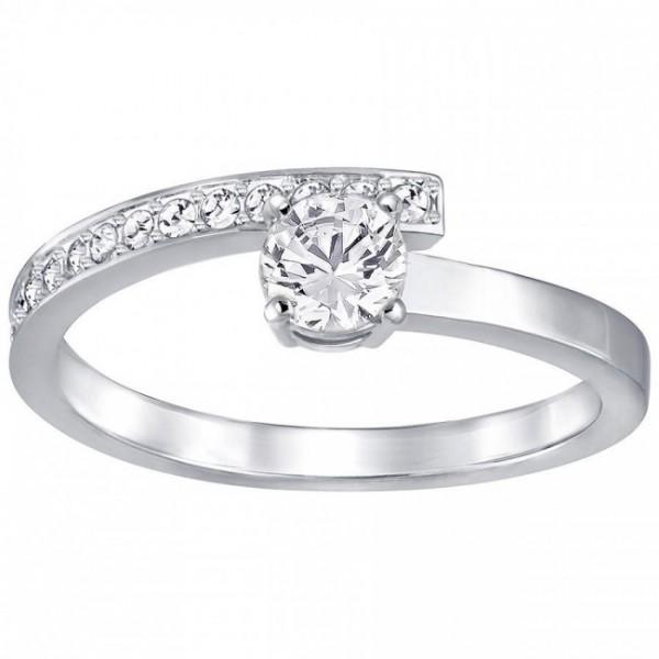 Swarovski Fresh Ring, Klein, Weiss, Rhodiniert 5251686 Weite: 50