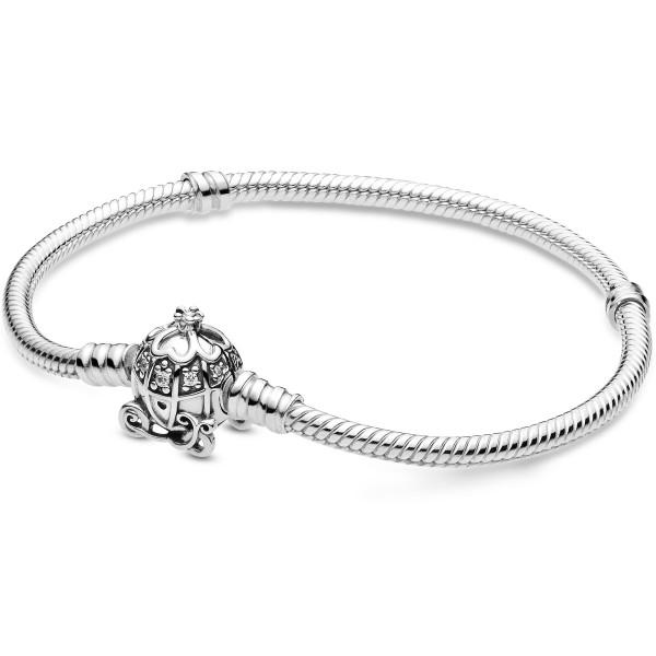 Disney Cinderella Kürbiskutschen-Verschluss Armband 599190C01