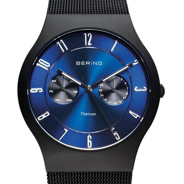 11939-078-1 Bering schwarz gebürstet