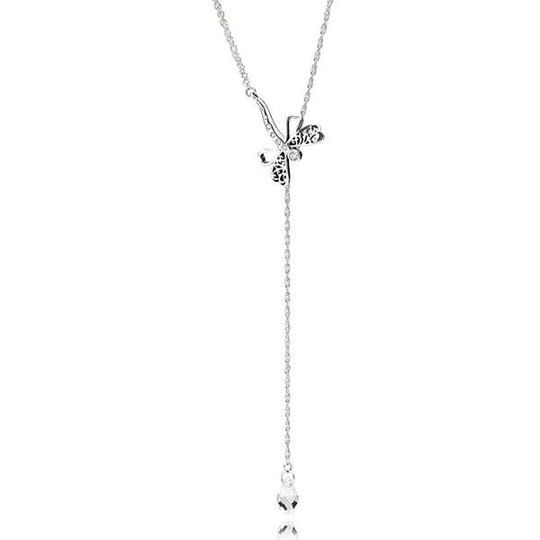 PANDORA Halskette Dreamy Drogonfly Necklace 397104CZ-65