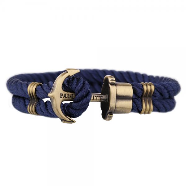 PAUL HEWITT PHREP Anker Nylon Armband Marineblau PH-PH-N-N-S