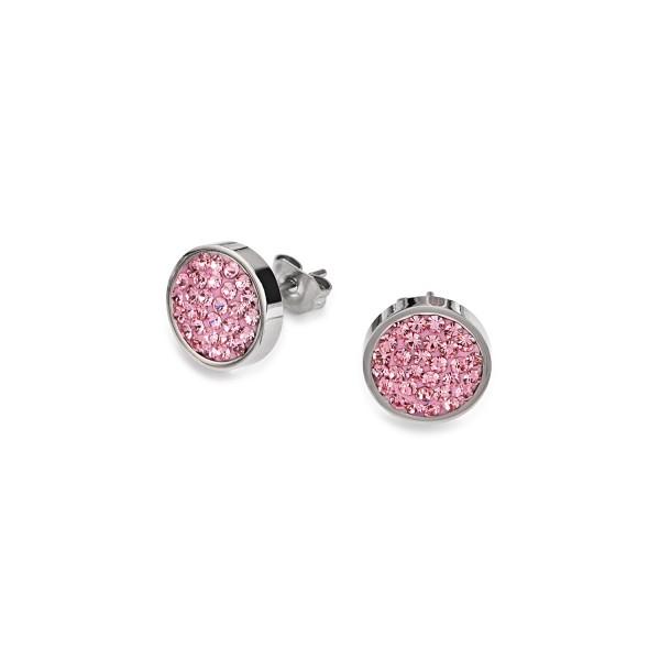 Ohrstecker Kristalle Pavé rosa 0112211900