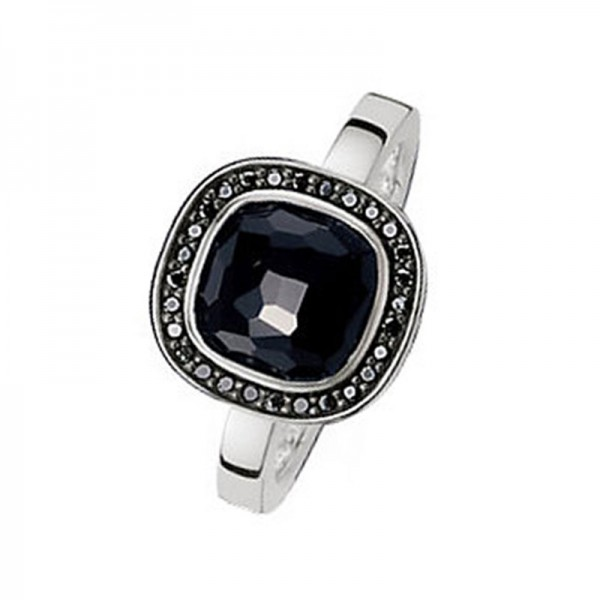 TR2029-641-11-54 Thomas Sabo So Black Ring Onyx