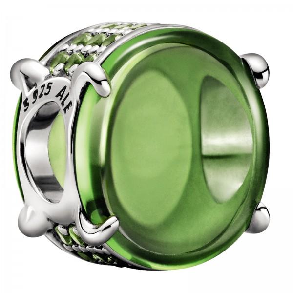 Grünes Ovales Cabochon PANDORA Charm 799309C02