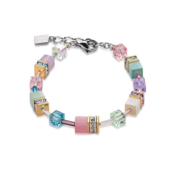 Geo Cube Armband Multicolor pastell romantic 2838301558