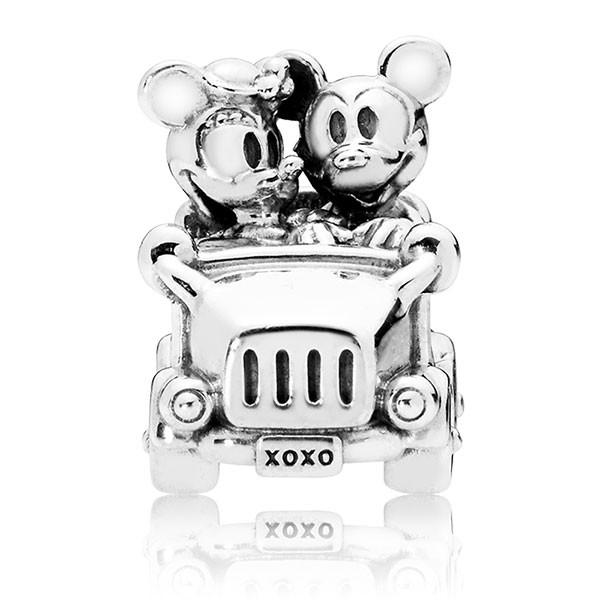PANDORA Disney Charm Mickey und Minnie im Auto 797174