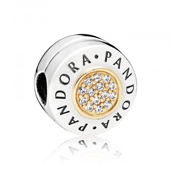 PANDORA Charm  Logo 796229CZ