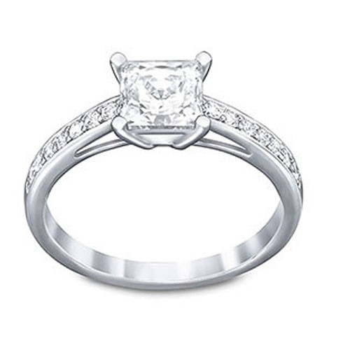 Swarovski Attract Square Ring 5032917