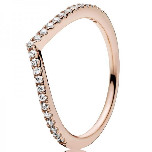 PANDORA Ring Shimmering Wish 186316CZ-48
