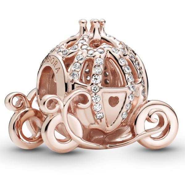 Disney Cinderella Funkelnde Kutsche ROSE PANDORA Charm 789189C01