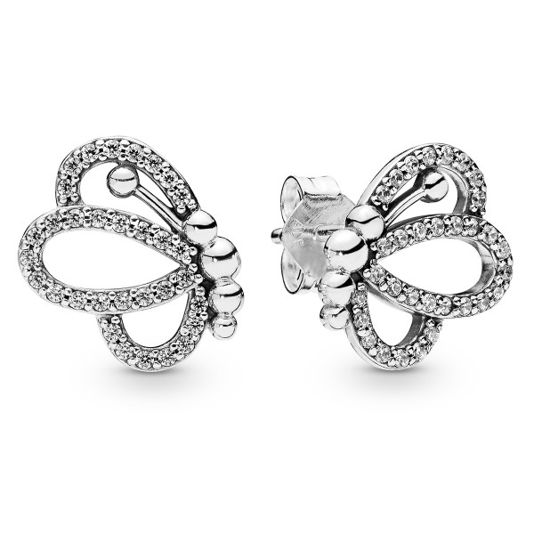 Butterfly Outlines Schmetterling PANDORA Ohrstecker 297912CZ